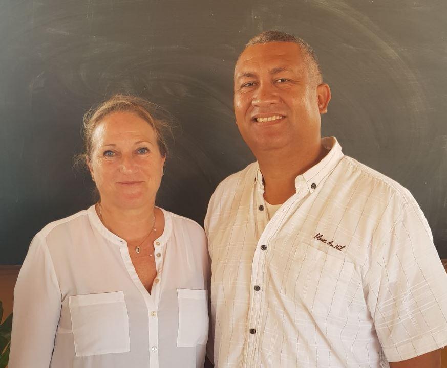 Charles Mercelina en Anja Romeinders