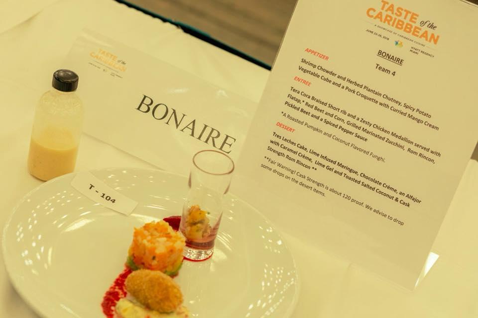 """Het Bonaire Culinary Team staat weer in Miami op de """"Taste of the Caribbean"""""""