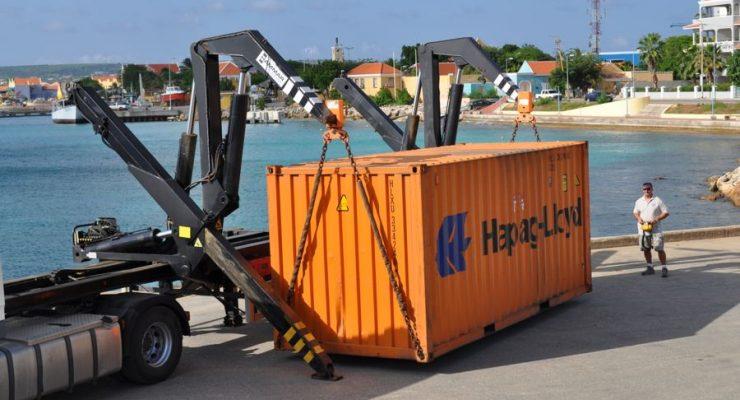 Container Services Bonaire containervervoer