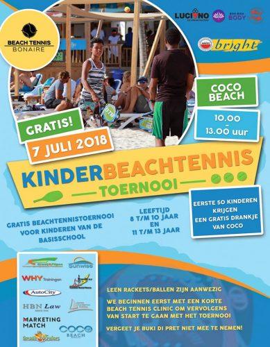 Beach Tennis Toernooi voor kinderen @ Coco Beach