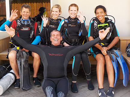 Vacature Shop Assistant needed with passion for scuba diving