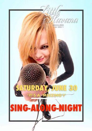 Sing Along Night @ Little Havana