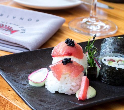 It Rains Fishes - sushi