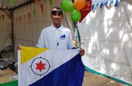 Nazario Alberto loopt voor de 15de keer de Nijmeegse Vierdaagse uit