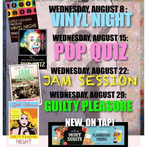 Agenda augustus @ Little Havana | Kralendijk | Bonaire | Caribisch Nederland