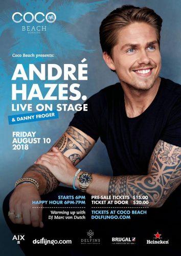 André Hazes jr LIVE! @ Coco Beach | Kralendijk | Boneiru | Caribisch Nederland