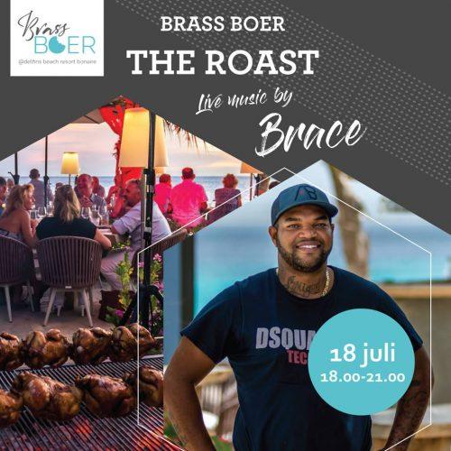 The Roast met LIVE Brace ! @ Delfins Beach Resort | Kralendijk | Bonaire | Caribisch Nederland