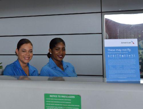 medewerkers van Bonaire Air Services