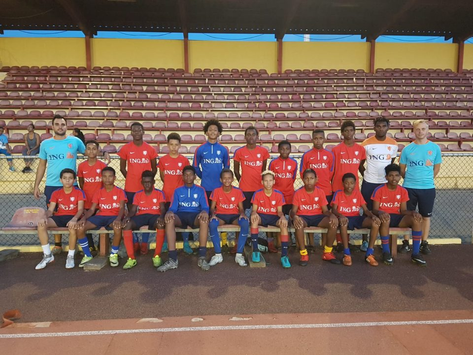 U14 selectie terug op Bonaire