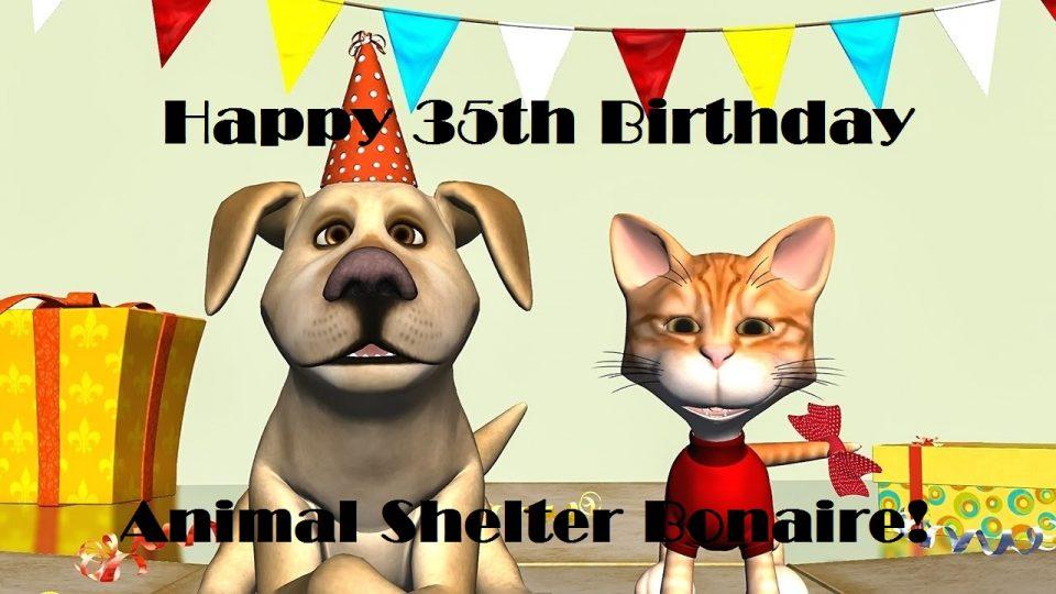 Animal Shelter viert 35ste verjaardag !