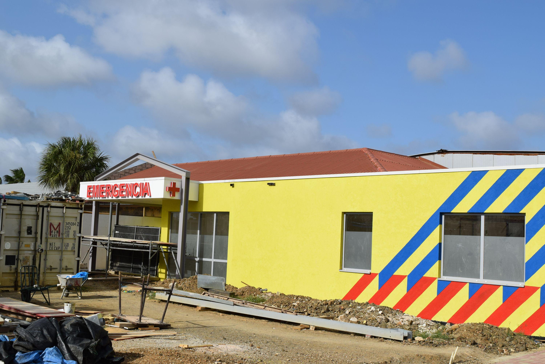 Hospitaal in aanbouw