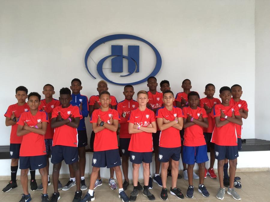 Bonaire selectie U14 is er klaar voor!