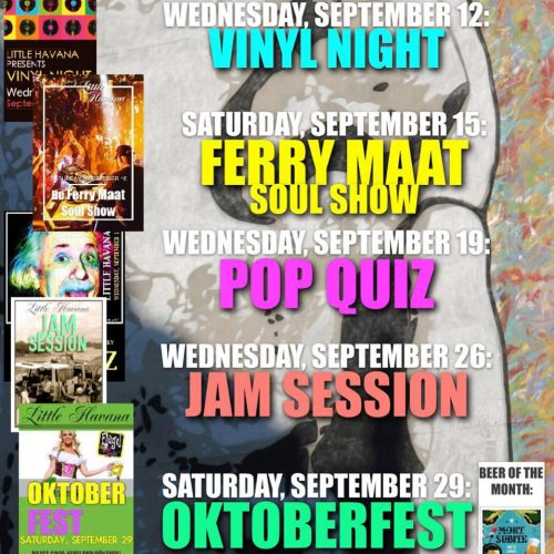 Agenda september @ Little Havana