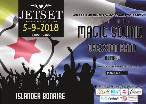 Jetset Party Bonaire @ Islander