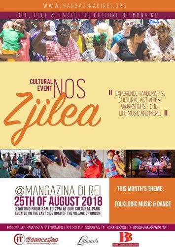 Cultureel Event @ Mangazina di Rei Rincon
