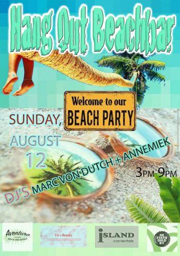 Beach Party Sorobon @ Hang Out Beach Bar