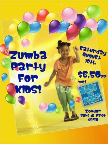 Zumba party for kids @ Kaya Neerlandia 21C