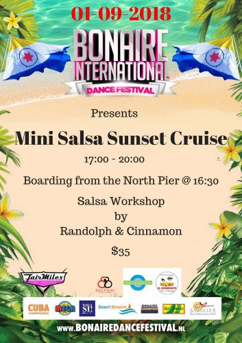 Mini Salsa Sunset cruise