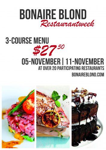 Bonaire Blond Restaurant Week