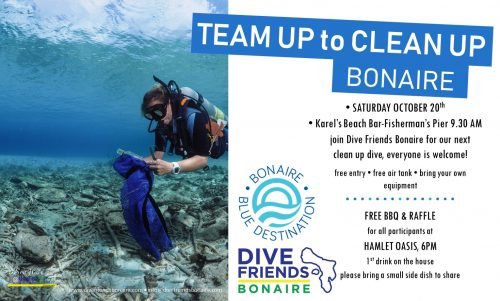 Clean up Dive @ Dive Friends Bonaire