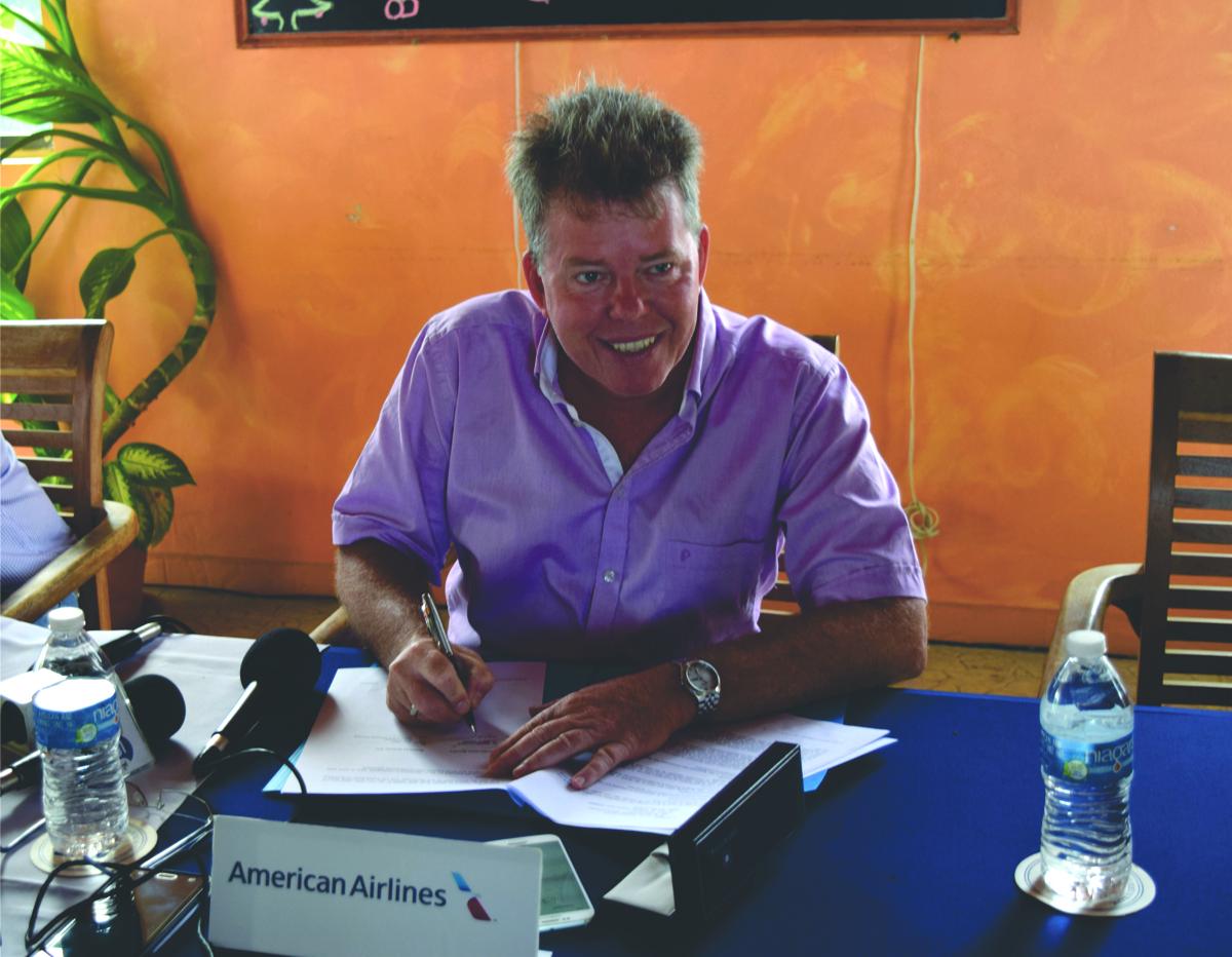 Ondertekening overeenkomst met AA 20 dec 2017