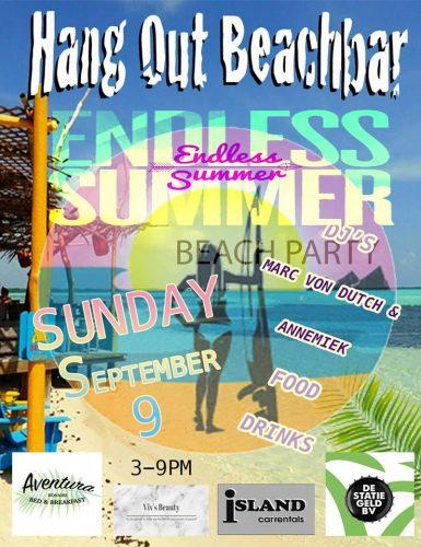 Beach Party @ Hang Out Beach Bar