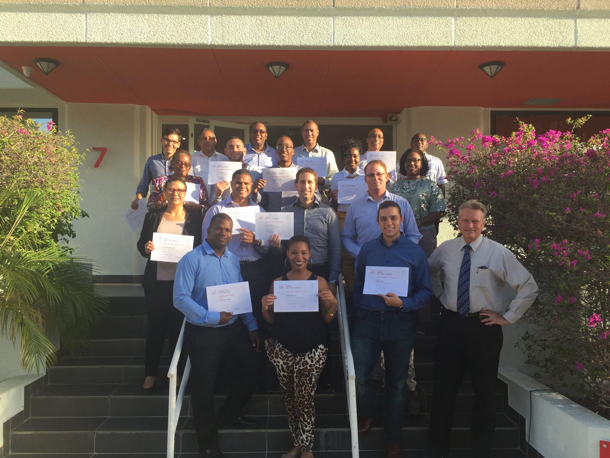 Curaçaose stichting voor Professioneel Software Testen bestaat één jaar