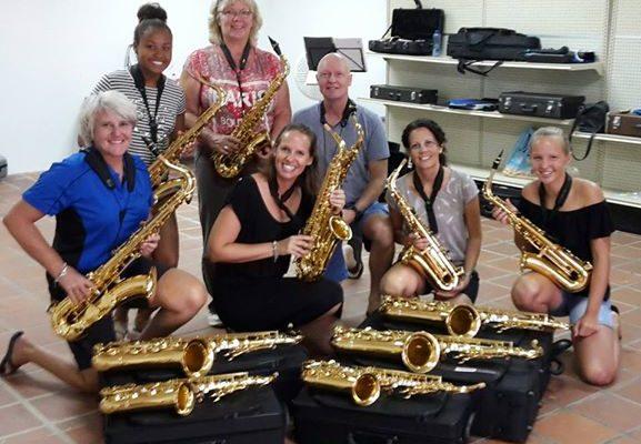 Nog enkele lesplekken vrij voor saxofoonles !