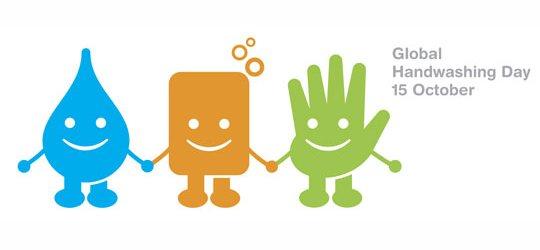 Internationale dag van het handen wassen