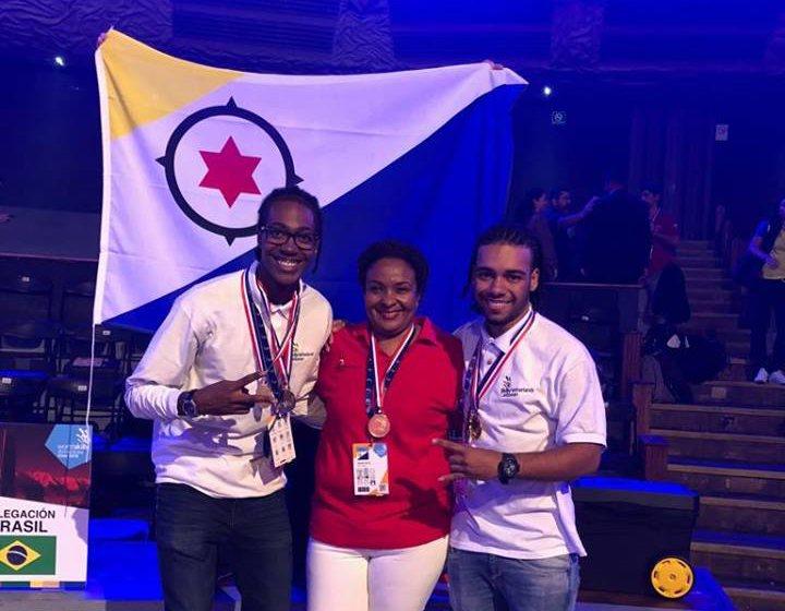 MBO Bonaire wint silver op World Skills Americas