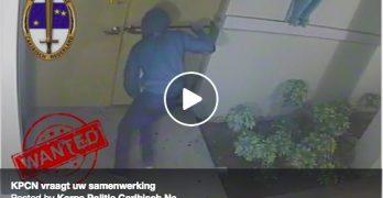 Politie vraagt hulp bij volgende video van casino overval