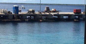 Scheepvaart kan de zuidpier weer gebruiken ondanks vertraging in uitvoering