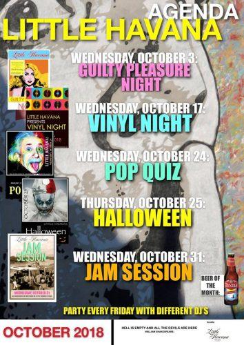 Agenda oktober @ Little Havana