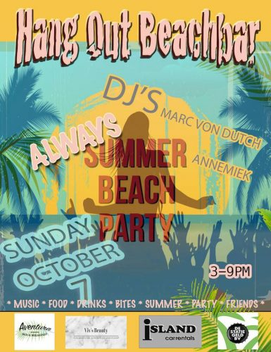 Beach Party @ Hang Out Beach Bar
