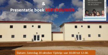 Open dag bij nieuwe locatie van stichting Project en presentatie van het boek VERTROUWEN
