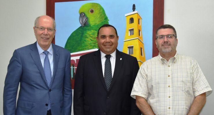 Nieuwe voorzitter raad van toezicht PCN maakt kennis met gezaghebber