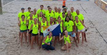 32 spelers vertegenwoordigen Bonaire op Aruba Beach Tennis Open