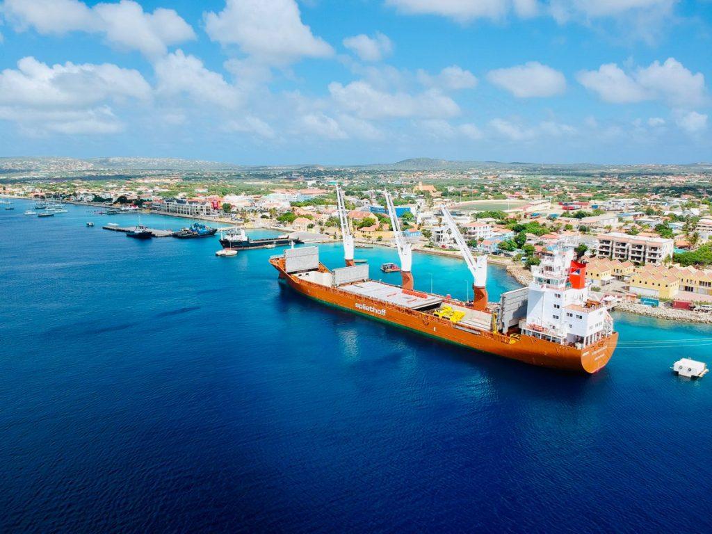 Zeevracht naar Bonaire rechtstreeks mogelijk