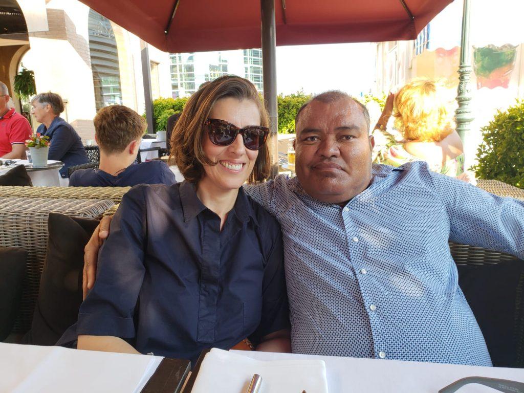 Ana gaf een jaar geleden haar nier aan haar man Eugene