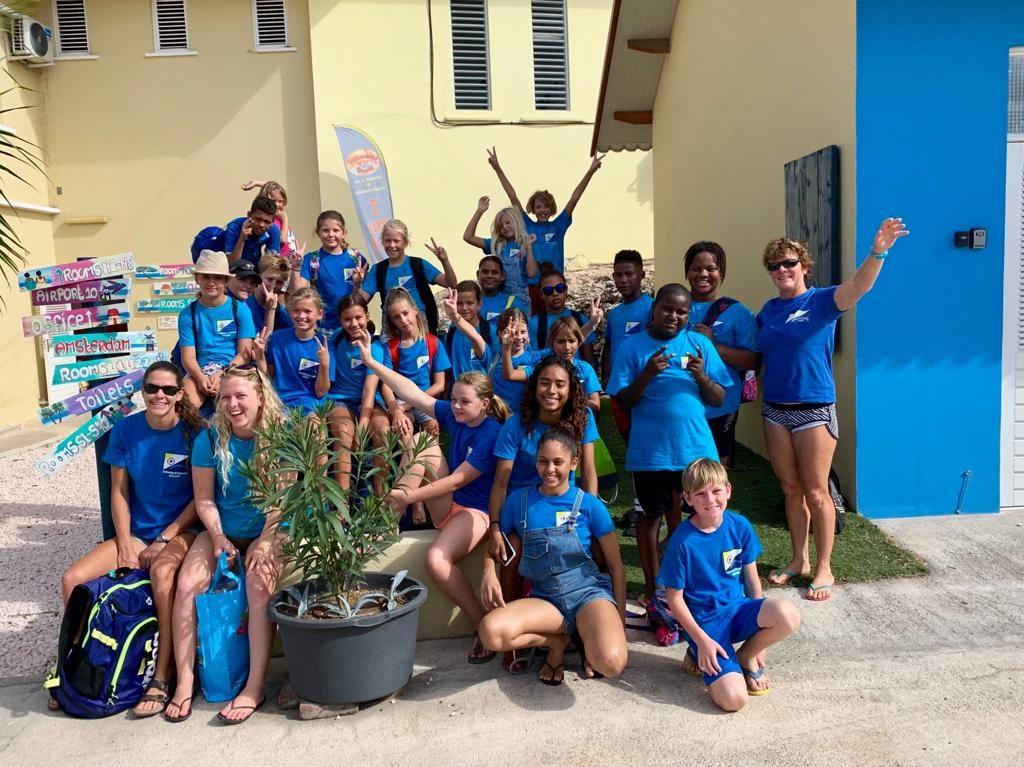 Nieuwe generatie Bonaire Barracudas U10 en U12 heeft zich laten zien op Curaçao