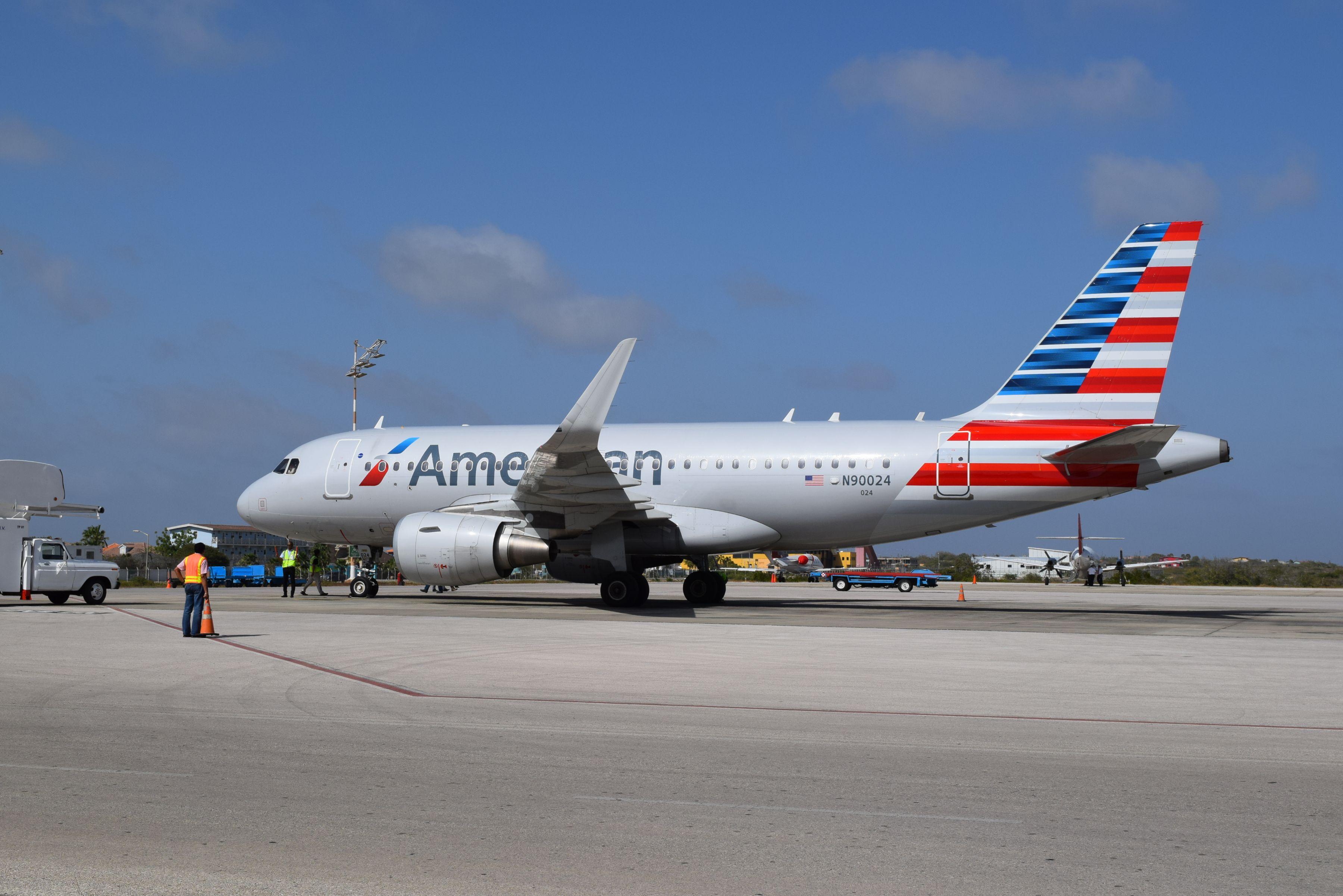 Eerste Airbus AA op Bonaire