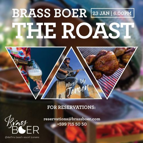 "Brass Boer  ""The Roast"" @ Delfins Beach Resort"