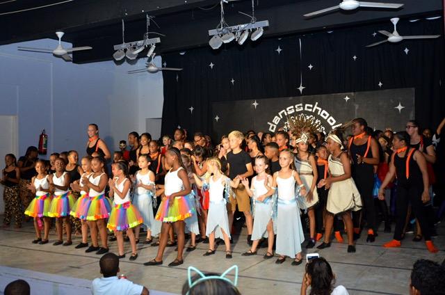 Show dansschool Dance Sensation een groot succes