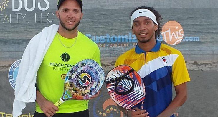 Goud in Florida voor Beach Tennis Bonaire
