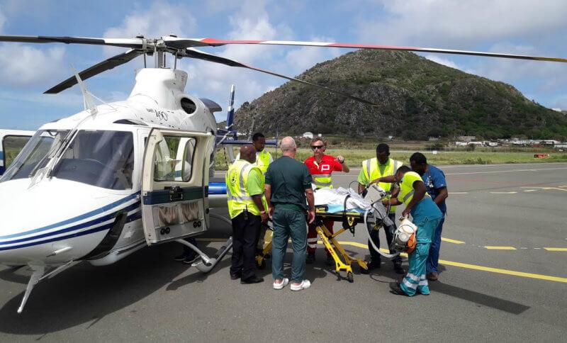 Tijdelijk weer medische nachtvluchten op Sint Eustatius