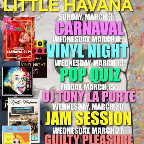 Agenda Maart @ Little Havana