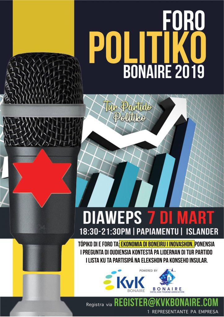 Politiek forum voor ondernemers op Bonaire