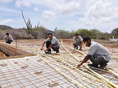 Een huis bouwen op Bonaire