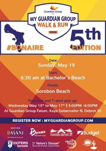 My Guardian Group Walk and Run @ Bachelor's Beach to Sorobon