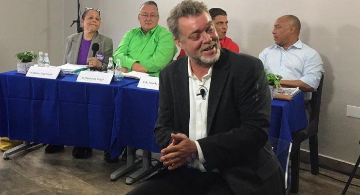 Moderator Arjen de Wolff